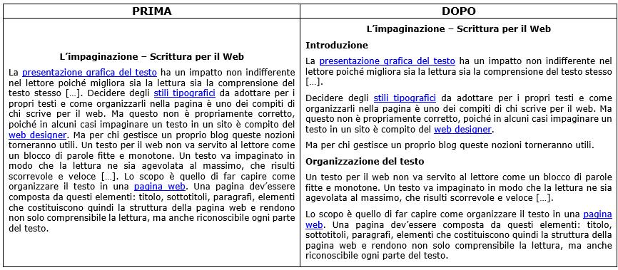 testo web
