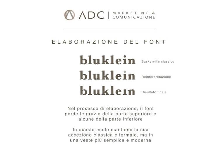 ADC crea il Marchio Aziendale Bluklein