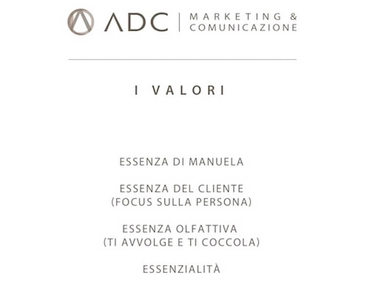 ADC Marketing e Comunicazione crea nomina e marchio aziendale per Essenza Estetica e Makeup.