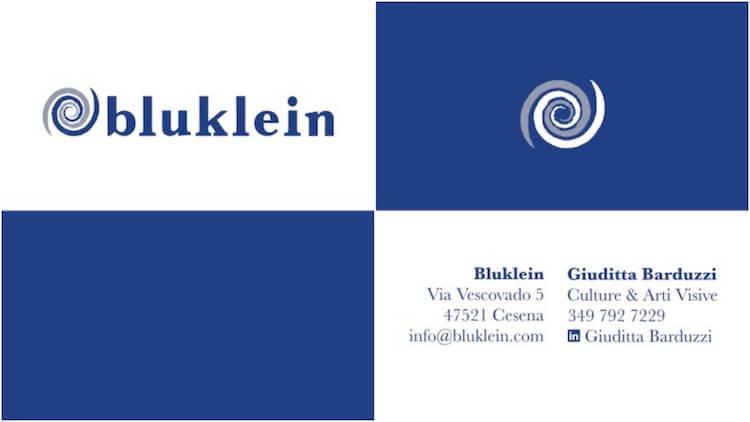 Coordinato Aziendale Bluklein BV 1