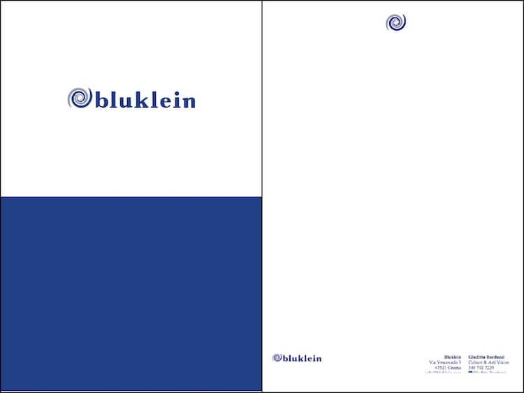 ADC Marketing e Comunicazione crea il Coordinato Aziendale per Bluklein