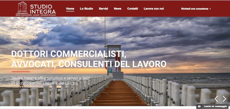 ADC Marketing e Comunicazione affina lo Studio Integra di Cervia nell'elaborazione del nuovo Marchio e Coordinato Aziendale