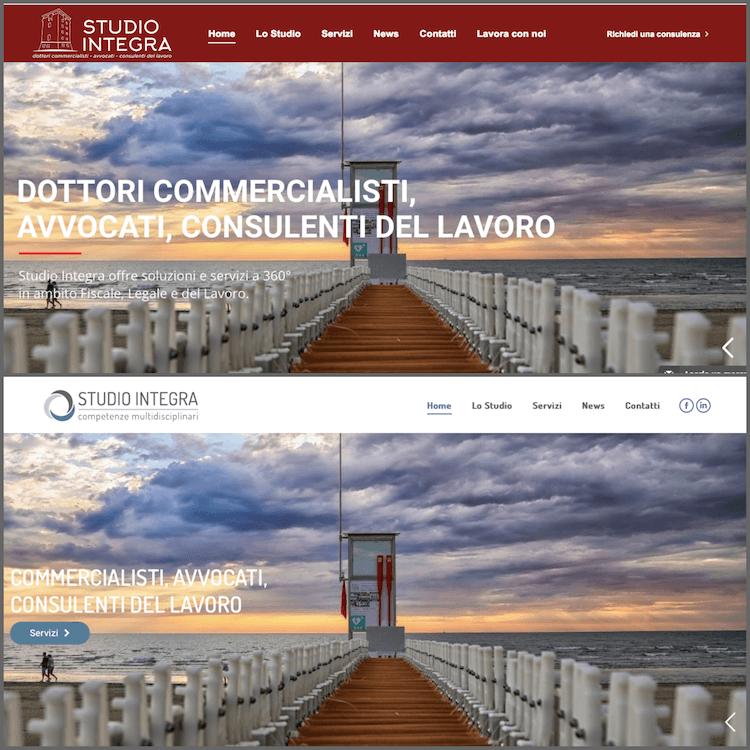 ADC Marketing e Comunicazione realizza il nuovo sito web di Studio Integra a Cervia